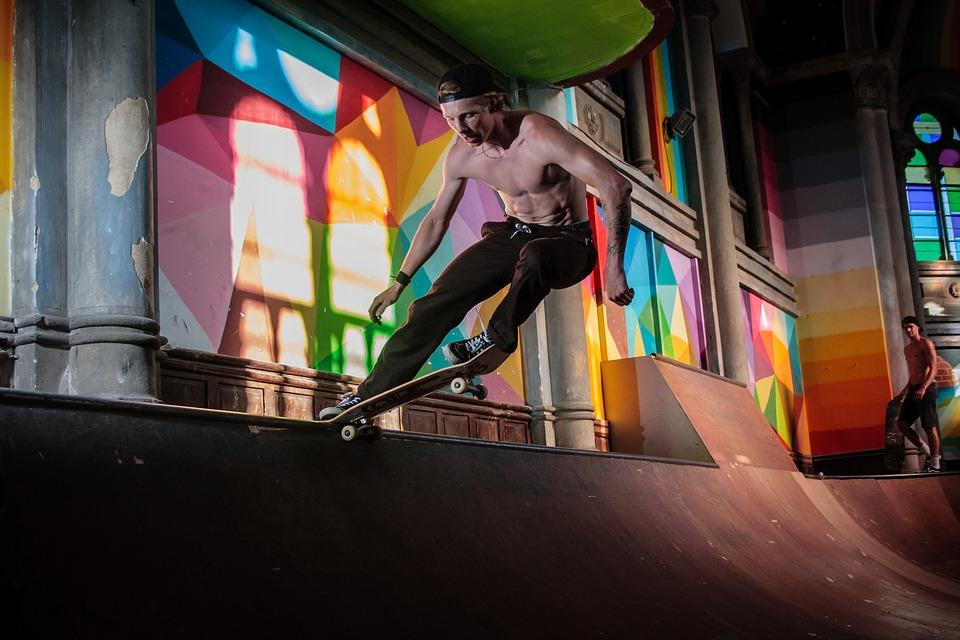 andar skate emagrece