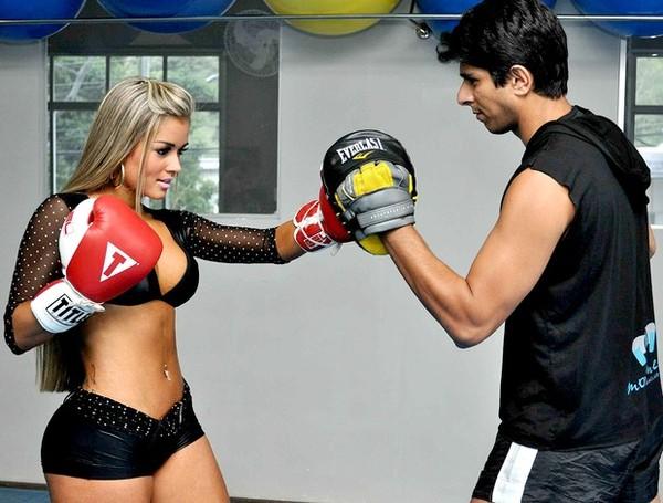 treinar boxe emagrece